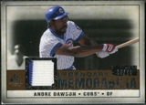 2008 Upper Deck SP Legendary Cuts Legendary Memorabilia Copper #AD Andre Dawson /75