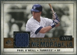 2008 Upper Deck SP Legendary Cuts Legendary Memorabilia Copper Parallel #PO Paul O'Neill /75