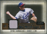 2008 Upper Deck SP Legendary Cuts Legendary Memorabilia Copper Parallel #RS Ryne Sandberg /75