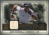 2008 Upper Deck SP Legendary Cuts Legendary Memorabilia Copper #DW Dave Winfield /75