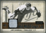 2008 Upper Deck SP Legendary Cuts Legendary Memorabilia Copper Parallel #JB Jim Bunning /75