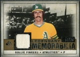 2008 Upper Deck SP Legendary Cuts Legendary Memorabilia #RF Rollie Fingers /75