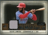 2008 Upper Deck SP Legendary Cuts Legendary Memorabilia Copper Parallel #OS2 Ozzie Smith /75