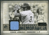 2008 Upper Deck SP Legendary Cuts Legendary Memorabilia Taupe Parallel #FJ Fergie Jenkins /10