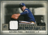 2008 Upper Deck SP Legendary Cuts Legendary Memorabilia Taupe Parallel #GP Gaylord Perry /10