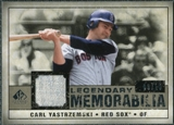 2008 Upper Deck SP Legendary Cuts Legendary Memorabilia Taupe #CY Carl Yastrzemski /10