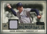 2008 Upper Deck SP Legendary Cuts Legendary Memorabilia Taupe Parallel #GG Goose Gossage /10