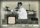 2008 Upper Deck SP Legendary Cuts Legendary Memorabilia Taupe Parallel #HK Harmon Killebrew /10