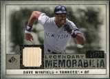2008 Upper Deck SP Legendary Cuts Legendary Memorabilia Taupe #DW Dave Winfield /10