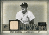 2008 Upper Deck SP Legendary Cuts Legendary Memorabilia Taupe Parallel #SM Stan Musial /10
