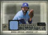 2008 Upper Deck SP Legendary Cuts Legendary Memorabilia Taupe Parallel #BS Bruce Sutter /10