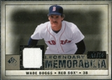 2008 Upper Deck SP Legendary Cuts Legendary Memorabilia Taupe #WB2 Wade Boggs /10
