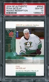 2004/05 Upper Deck SP Authentic Rookie Redemption #RR45 Ryan Getzlaf /399 RC PSA 10 Gem Mint