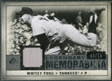 2008 Upper Deck SP Legendary Cuts Legendary Memorabilia Gray #WF Whitey Ford /15