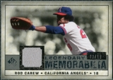 2008 Upper Deck SP Legendary Cuts Legendary Memorabilia Gray Parallel #CA Rod Carew /15
