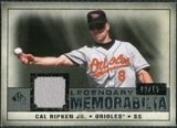 2008 Upper Deck SP Legendary Cuts Legendary Memorabilia Gray Parallel #CR Cal Ripken Jr. /15