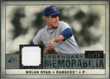 2008 Upper Deck SP Legendary Cuts Legendary Memorabilia Gray #NR Nolan Ryan /15