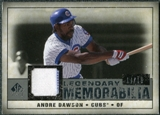 2008 Upper Deck SP Legendary Cuts Legendary Memorabilia Gray Parallel #AD Andre Dawson /15