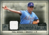 2008 Upper Deck SP Legendary Cuts Legendary Memorabilia Gray Parallel #PN Phil Niekro /15