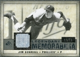 2008 Upper Deck SP Legendary Cuts Legendary Memorabilia Gray #JB Jim Bunning /15