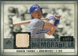2008 Upper Deck SP Legendary Cuts Legendary Memorabilia Gray Parallel #RY Robin Yount /15