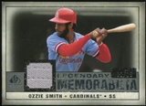 2008 Upper Deck SP Legendary Cuts Legendary Memorabilia Gray #OS2 Ozzie Smith 1/15