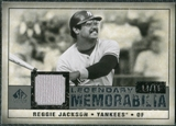 2008 Upper Deck SP Legendary Cuts Legendary Memorabilia Gray #RJ Reggie Jackson 14/15