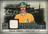 2008 Upper Deck SP Legendary Cuts Legendary Memorabilia Gray Parallel #RF Rollie Fingers /15
