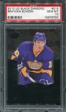 2010/11 Upper Deck Black Diamond #215 Brayden Schenn RC PSA 10 Gem Mint