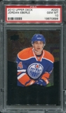 2010/11 Upper Deck Black Diamond #220 Jordan Eberle RC PSA 10 Gem Mint