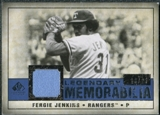 2008 Upper Deck SP Legendary Cuts Legendary Memorabilia Dark Blue #FJ Fergie Jenkins /25