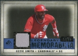 2008 Upper Deck SP Legendary Cuts Legendary Memorabilia Dark Blue #OS Ozzie Smith /25
