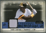 2008 Upper Deck SP Legendary Cuts Legendary Memorabilia Dark Blue #TG2 Tony Gwynn /25