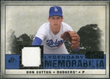 2008 Upper Deck SP Legendary Cuts Legendary Memorabilia Dark Blue Parallel #DS Don Sutton /25
