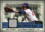 2008 Upper Deck SP Legendary Cuts Legendary Memorabilia Dark Blue #CA Rod Carew /25