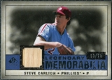 2008 Upper Deck SP Legendary Cuts Legendary Memorabilia Dark Blue #ST Steve Carlton /25