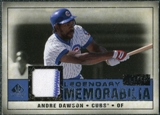 2008 Upper Deck SP Legendary Cuts Legendary Memorabilia Dark Blue Parallel #AD Andre Dawson /25