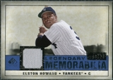 2008 Upper Deck SP Legendary Cuts Legendary Memorabilia Dark Blue #EH Elston Howard /25