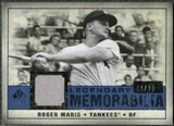 2008 Upper Deck SP Legendary Cuts Legendary Memorabilia Dark Blue #RM Roger Maris /25
