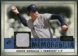 2008 Upper Deck SP Legendary Cuts Legendary Memorabilia Dark Blue Parallel #GG Goose Gossage /25
