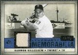 2008 Upper Deck SP Legendary Cuts Legendary Memorabilia Dark Blue #HK Harmon Killebrew /25