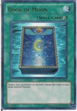 Yu-Gi-Oh Promo Single Book of Moon Ultra Rare TU07