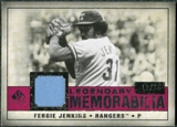2008 Upper Deck SP Legendary Cuts Legendary Memorabilia Red Parallel #FJ Fergie Jenkins /35