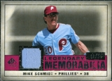 2008 Upper Deck SP Legendary Cuts Legendary Memorabilia Red #MS Mike Schmidt /35