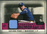 2008 Upper Deck SP Legendary Cuts Legendary Memorabilia Red #GP Gaylord Perry /35