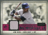 2008 Upper Deck SP Legendary Cuts Legendary Memorabilia Red Parallel #RI Jim Rice /35
