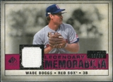 2008 Upper Deck SP Legendary Cuts Legendary Memorabilia Red #WB Wade Boggs /35