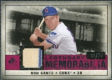 2008 Upper Deck SP Legendary Cuts Legendary Memorabilia Red #SA Ron Santo /35