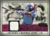 2008 Upper Deck SP Legendary Cuts Legendary Memorabilia Red Parallel #TR Tim Raines /35