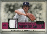 2008 Upper Deck SP Legendary Cuts Legendary Memorabilia Red #RG Ron Guidry /35
